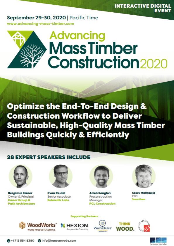 Advancing mass timber constr.